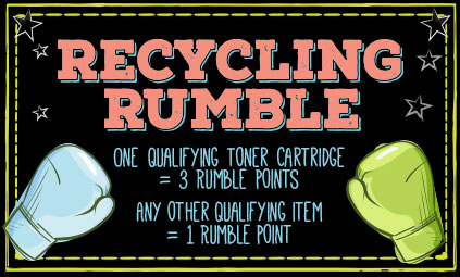 Will you recycle with us? It's easy and 100% free.  It's win-win