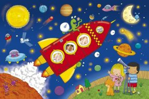 Ms.Marsha's Space Adventure @ Turner Free Library-Randolph
