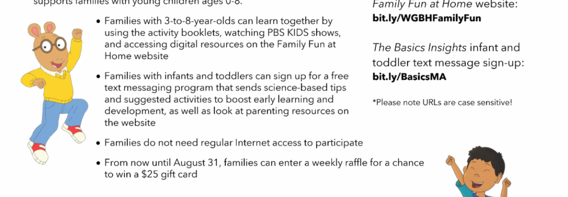 What's Happening at CFCE This Week?? ( Week of July 20, 2020)